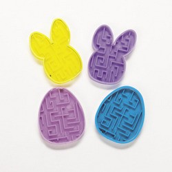 "2"" Easter Maze Puzzles"