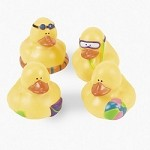 Beach Rubber Ducks