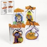 Color Your Own Halloween Paper Bags