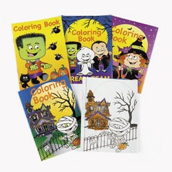 "5"" x 7"" Halloween Coloring Books"