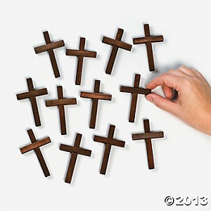 "3"" Mini Wooden Crosses"