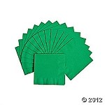 20 ct. Green Luncheon Napkins