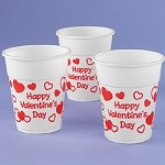 Valentine Disposable Cups