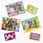 Tropical Photo Frame Magnets