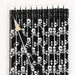 Skull And Crossbones Pencils
