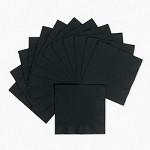 20 ct Black Luncheon Napkins