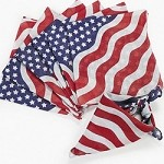 Stars and Stripes Bandannas