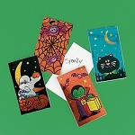 Prismatic Halloween Notepads