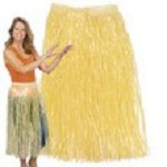Adult Natural Hula Skirt