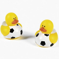 "1 1/2"" Vinyl Mini Soccer Ball Ducks"