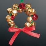 Jingle Bell Wreath Ornament Craft Kit