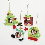 Holiday Photo Frame Ornament Craft Kit