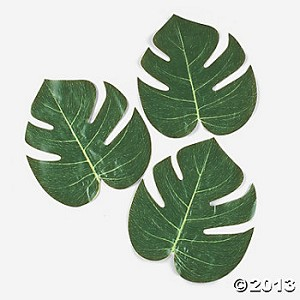 "8"" Tropical Leaves"